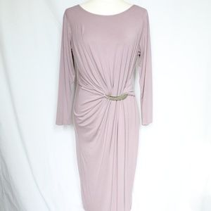Dorothy Perkins Luxe Bar Detail Dress Purple